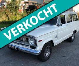 JEEP WAGONEER CHIEF 5.9 V8 5DR AUT LIMITED 1977 LPG/AIRCO UIT 28-02-1977 AANGEBODEN DOOR A