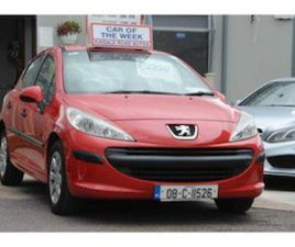 PEUGEOT 207 1.4 75 BHP S FOR SALE IN CORK FOR €2550 ON DONEDEAL