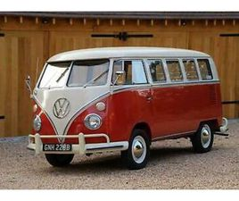 1964 VW SPLIT SCREEN '13 WINDOW DELUXE' CAMPER VAN. CALIFORNIAN IMPORT. RESTORED