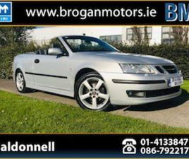 SAAB 9-3, 2007 1.8T VECTOR CABRIOLET FOR SALE IN DUBLIN FOR €4495 ON DONEDEAL