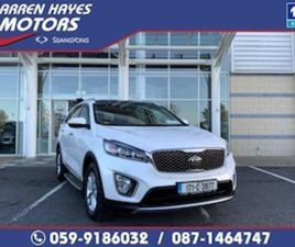 KIA SORENTO PLATINUM 4X4 FOR SALE IN CARLOW FOR €30945 ON DONEDEAL