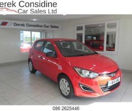 HYUNDAI I20 1.2 CLASSIC FOR SALE IN CLARE FOR €7950 ON DONEDEAL