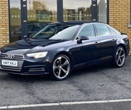 USED 2017 AUDI A4 SE ULTRA TDI SALOON 57,000 MILES IN BLUE FOR SALE | CARSITE