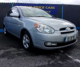 HYUNDAI ACCENT, 1.5 DIESEL 3 DOOR FULL HISTORY FOR SALE IN DUBLIN FOR €2750 ON DONEDEAL