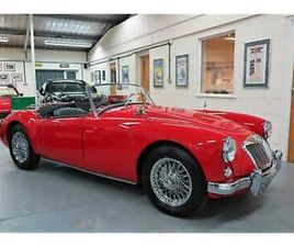 1957 MGA ROADSTER - CHARIOT RED - BLACK LEATHER - MOHAIR HOOD