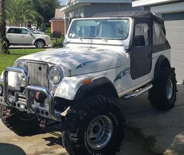FOR SALE: 1985 JEEP CJ7 IN TAVARES, FLORIDA