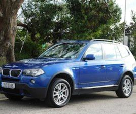 BMW X3 2.0D 177BHP AUTOMATIC IRISH CAR NCT 11/21 FOR SALE IN DUBLIN FOR €7900 ON DONEDEAL
