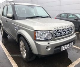 USED 2013 LAND ROVER DISCOVERY XS SDV6 AUTO NOT SPECIFIED 129,000 MILES IN GOLD FOR SALE |