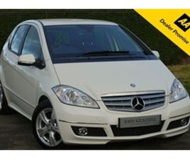 USED 2012 MERCEDES-BENZ A CLASS 2.0 A160 CDI AVANTGARDE SE 5D 81 BHP HATCHBACK 39,245 MILE