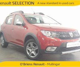 DACIA SANDERO STEPWAY ALTERNATIVE TC FOR SALE IN WESTMEATH FOR €12450 ON DONEDEAL