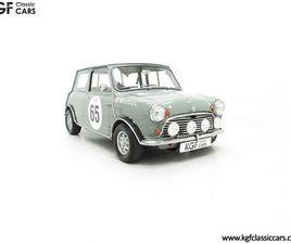 A RARE HOMOLOGATION MORRIS MINI MK1 COOPER S 970CC WITH PREVIOUS FIA PASSPORT (1965)