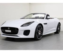 JAGUAR F-TYPE CONVERTIBLE 3.0 V6 AWD CHEQUERED FLAG