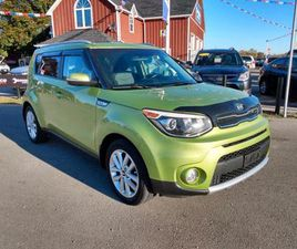 USED 2017 KIA SOUL EX **ONE OWNER WITH 0 ACCIDENTS** EX, BACK-UP CAMERA!