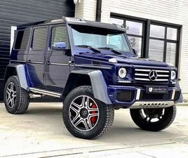 MERCEDES-BENZ G 500 4X4 DESIGNO/WEBASTO/CAMERA/CARBON