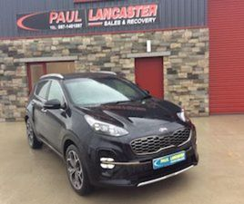 2020 KIA SPORTAGE GT LINE FOR SALE IN WEXFORD FOR €34950 ON DONEDEAL