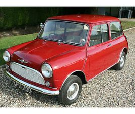 1960 MORRIS MINI MINOR DE LUXE SALOON. FABULOUS EXAMPLE OF AN EARLY MINI