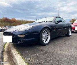 ASTON MARTIN COUPE DB7 335 CV 6 CYLINDRES 1998 104 000 MILES CONDUITE ANGLAISE A DROITE