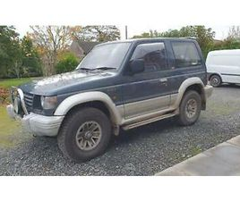 MITSUBISHI SHOGUN PAJERO SWB MANUAL 2.5 TD PX SWAP ANYTHING CONSIDERED
