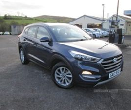 USED 2017 HYUNDAI TUCSON SE NAV B-DRIVE 2WD NOT SPECIFIED 45,806 MILES IN BLUE FOR SALE |
