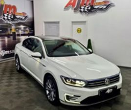 USED 2018 VOLKSWAGEN PASSAT 1.4 GTE ADVANCE 4D 156 BHP SALOON 50,000 MILES IN WHITE FOR SA