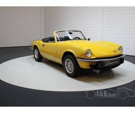 1981 TRIUMPH SPITFIRE 1500TC 1981 WELL MAINTAINED