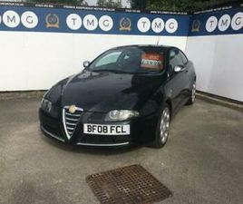 2008 ALFA ROMEO GT JTDM 16V BLACKLINE COUPE DIESEL MANUAL