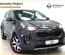 KIA SPORTAGE GT LINE EDITION 93PW LEATHER FOR SALE IN LIMERICK FOR €24495 ON DONEDEAL
