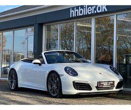 PORSCHE 911 CARRERA 4S 3,0 CABRIOLET PDK - 1.774.500 KR.
