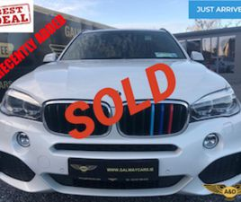 ☘️LOOK!BMW X5 25D XDRIVE M-SPORT (INDIVIDUAL PACK) FOR SALE IN GALWAY FOR €33950 ON DONEDE