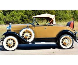 1930 FORD MODEL A ROADSTER CONVERTIBLE