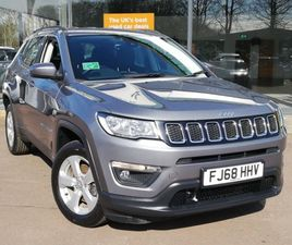 USED 2018 (68) JEEP COMPASS 2.0 MULTIJET 140 LONGITUDE 5DR IN STRATHAVEN