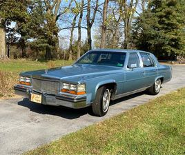 FOR SALE: 1987 CADILLAC BROUGHAM IN WASHINGTOM, DISTRICT OF COLUMBIA