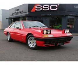 USED 1980 FERRARI 400I 4.8 GT 2DR COUPE 79,600 MILES IN RED FOR SALE | CARSITE