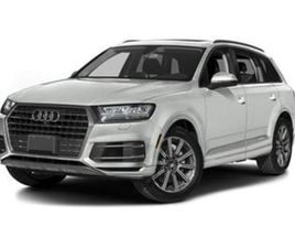 WHITE COLOR 2018 AUDI Q7 PREMIUM PLUS FOR SALE IN SILVER SPRING, MD 20904. VIN IS WA1LAAF7