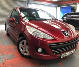 USED 2011 PEUGEOT 207 ENVY HDI HATCHBACK IN RED FOR SALE | CARSITE