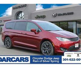 BRAND NEW RED COLOR 2020 CHRYSLER PACIFICA HYBRID TOURING-L FOR SALE IN SILVER SPRING, MD