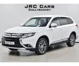 USED 2017 MITSUBISHI OUTLANDER DI-D 3 AUTO NOT SPECIFIED 54,000 MILES IN WHITE FOR SALE |
