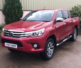 2017 TOYOTA HILUX INVINCIBLE FOR SALE IN DOWN FOR £19950 ON DONEDEAL