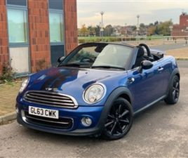 USED 2013 MINI ROADSTER 1.6 COOPER 2DR CONVERTIBLE 46,600 MILES IN BLUE FOR SALE | CARSITE