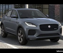 JAGUAR E-PACE 2.0D 150CH R-DYNAMIC CHEQUERED FLAG