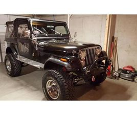 FOR SALE: 1982 JEEP CJ7 IN CADILLAC, MICHIGAN