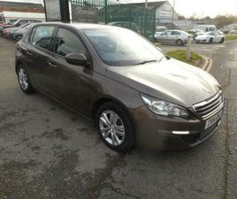 PEUGEOT 308 ACTIVE 5 DOOR MANUAL DIESEL 14 P[LATE LOW MILES SAT NAV
