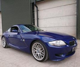 BMW Z4M 3.2 M SPORT COUPE 50K HEATED LEATHER CRUISE OEM SIDE SKIRTS CSL Z4 M WARRANTY