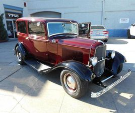 FOR SALE: 1932 FORD 2-DR SEDAN IN GILROY, CALIFORNIA