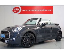 III CABRIOLET 2.0 COOPER S 192 FINITION EXQUISITE BVA7