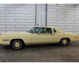 FOR SALE: 1978 CADILLAC ELDORADO BIARRITZ IN FORT WAYNE, INDIANA