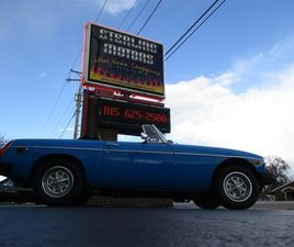 FOR SALE: 1979 MG MGB IN STERLING, ILLINOIS