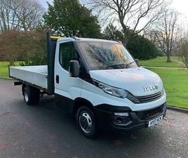 2017 (17) IVECO DAILY 35C14 2.3 HPI 14FT ALLOY DROPSIDE TRUCK LWB *EURO 6* A/C