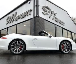 PORSCHE 911 (991) CARRERA 4S CABRIOLET PDK - EXTREMELY LOW MILES & FULL SERVICE HISTORY 20
