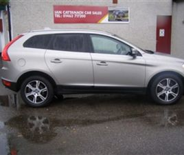 USED 2010 VOLVO XC60 D5 AWD ESTATE 74,000 MILES IN SILVER FOR SALE | CARSITE